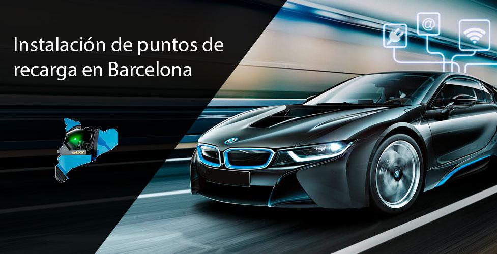 Instalación-de-puntos-de-recarga-de-coches-eléctricos-en-barcelona