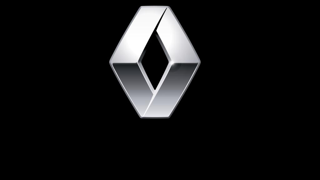 coche electrico Renault-logotipo punto de recarga