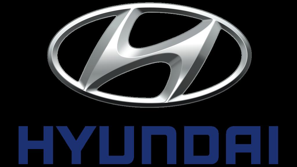 coche electrico hyundai logotipo punto de recarga
